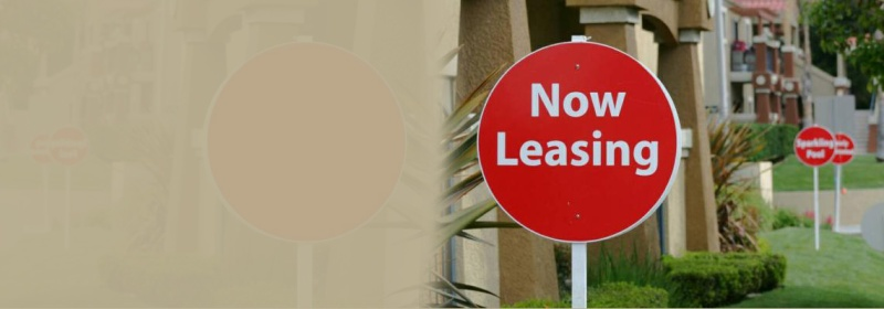 new leasing sign