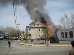 tenant rental unit tree fire