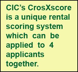 custom rental scoring models