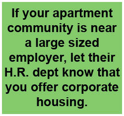 renting to corporations